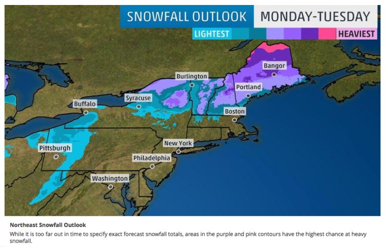 weather.com snowfall forecast