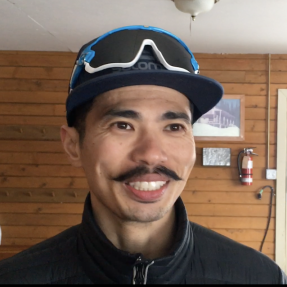 Portuguese cross country skier