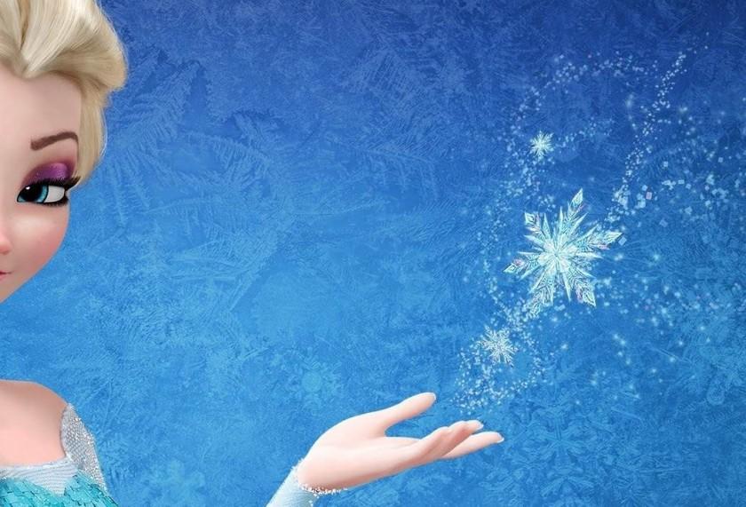 Elsa and snowflake
