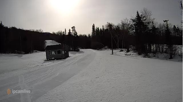 Screenshot from Prospect Mountain webcam Feb. 11, 11am